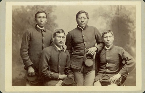 Students at Carlisle Indian School, 1880