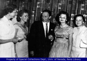Frank Sinatra at the Cal-Neva Lodge